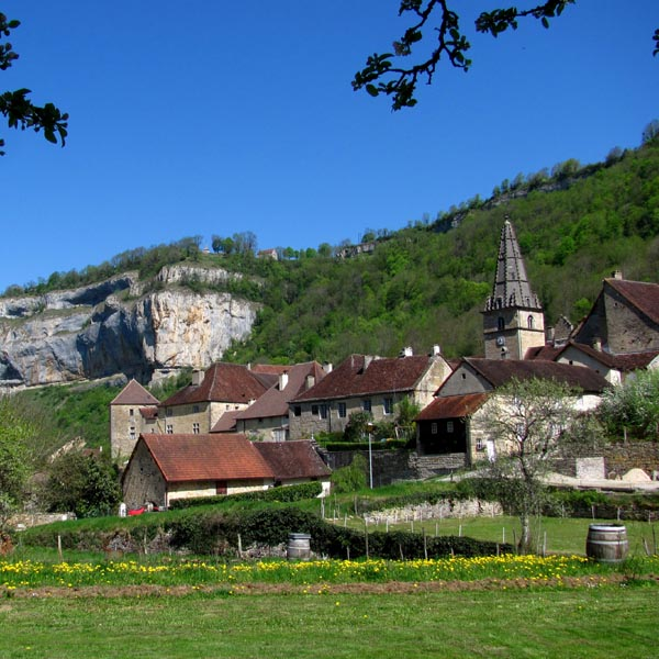 Jardin à votre disposition proche de l'Abbaye de Baume